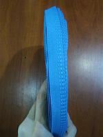 Тесьма брючная 15мм цв.синий (боб 50м) р 2378