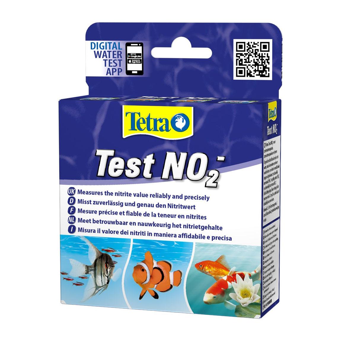 Капельный тест для воды на нитриты Tetra «Test NO2-» 2 x 10 мл