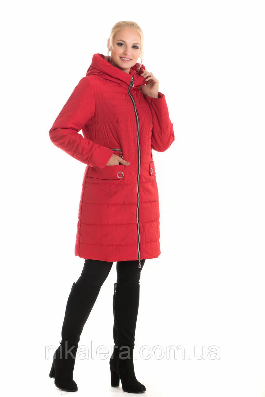 Модная куртка удлиненная рр 44-60.