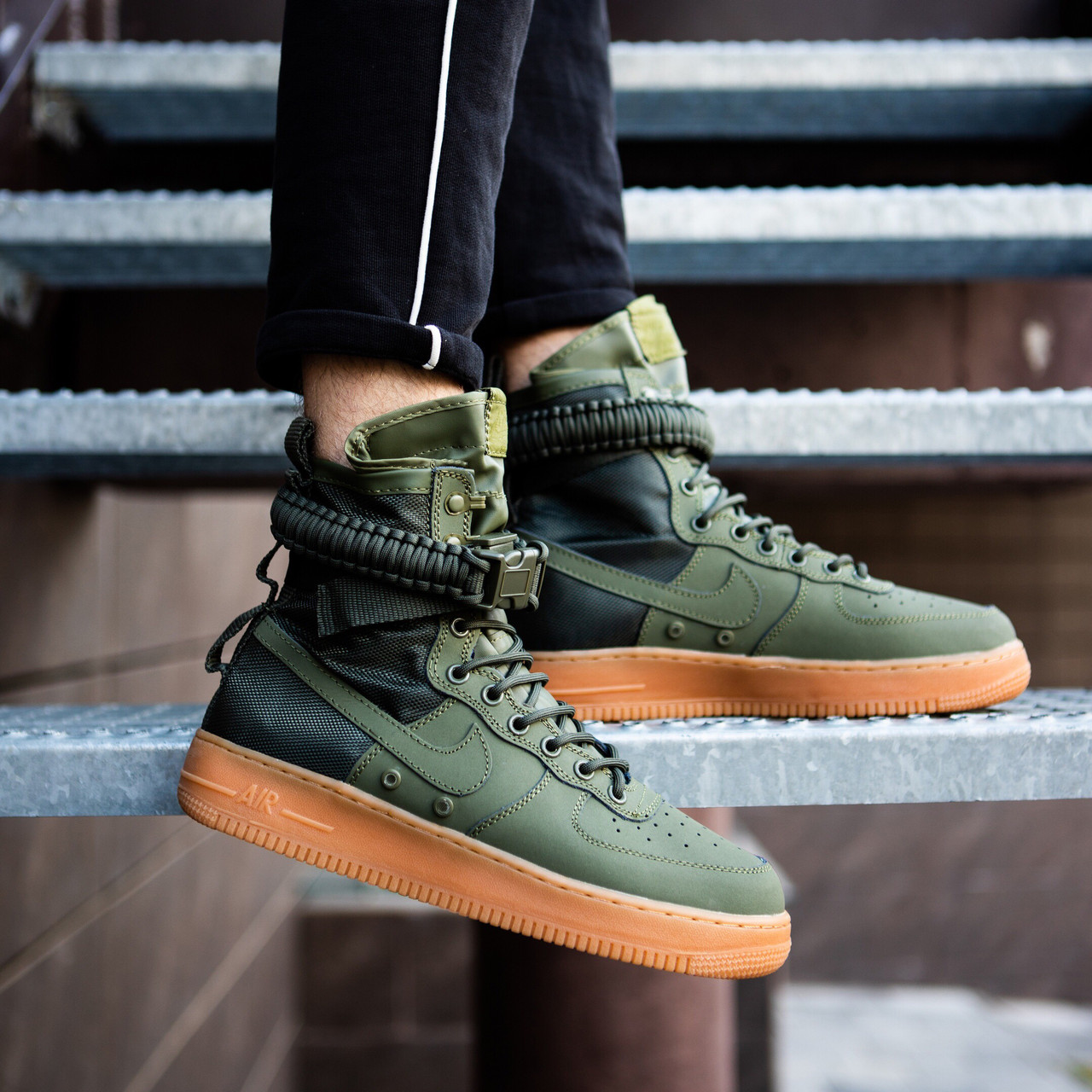 nike sf air force 1 faded olive best