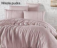 """Комплект постельного белья FIRST CHOICE Ранфорс DELUXE """"Nikola pudra"""" Евро"""