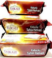 КУНЖУТНАЯ ХАЛВА ваниль-какао , Турция, 500 гр ,годен до 20.11.2020 ,турецкие сладости