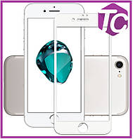 Защитное стекло Mocolo 3D Full Cover Anti-Blue Tempered Glass iPhone 7 Plus White