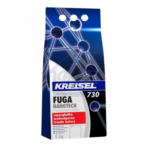 Затирка CERESIT сіра 7А FUGA NANOTECH 730 (2кг)
