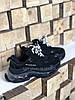 Женские кроссовки Balenciaga Triple S Clear Sole (Premium-class) черные, фото 3