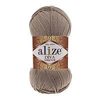 Alize Diva Stretch бежевый № 167