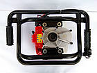 Мотобур Vorskla ПМЗ 52/300 (в комплекте 1 шнек 250мм + удлинитель для шнека 500мм), фото 4