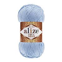 Alize Diva Stretch голубой № 350