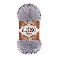 Alize Diva Stretch серый № 253