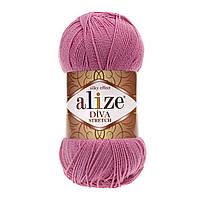 Alize Diva Stretch ярко-розовый № 178