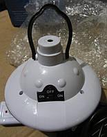 Светодиодная лампа JL-678-8 с пультом и солнечной батареей