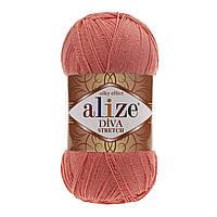 Alize Diva Stretch коралловый № 619