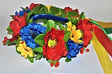 Обьемный Венок из цветок на голову