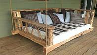 Підвісне ліжко - затишно вдома і в саду