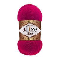 Alize Diva Stretch малиновый № 396, фото 1