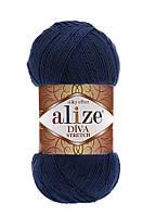 Alize Diva Stretch темно-синий № 361