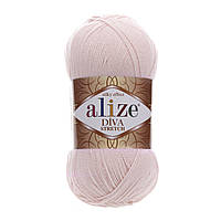 Alize Diva Stretch пудра № 382