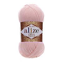 Alize Diva Stretch светло-розовый № 363