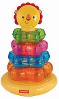 Развивающая музыкальная игрушка Пирамидка Львенок от Fisher-Price