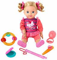 Куколка Little Mommy Lets Make Music с музыкальными инструментами