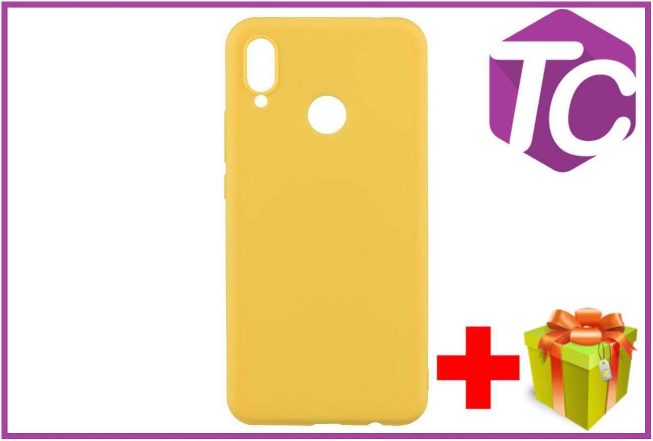 3823125844406 Чехол 2E Basic для Huawei Honor 8X, Soft touch, Mustard, цена 139 грн.,  купить в Киеве — Prom.ua (ID#927185554)
