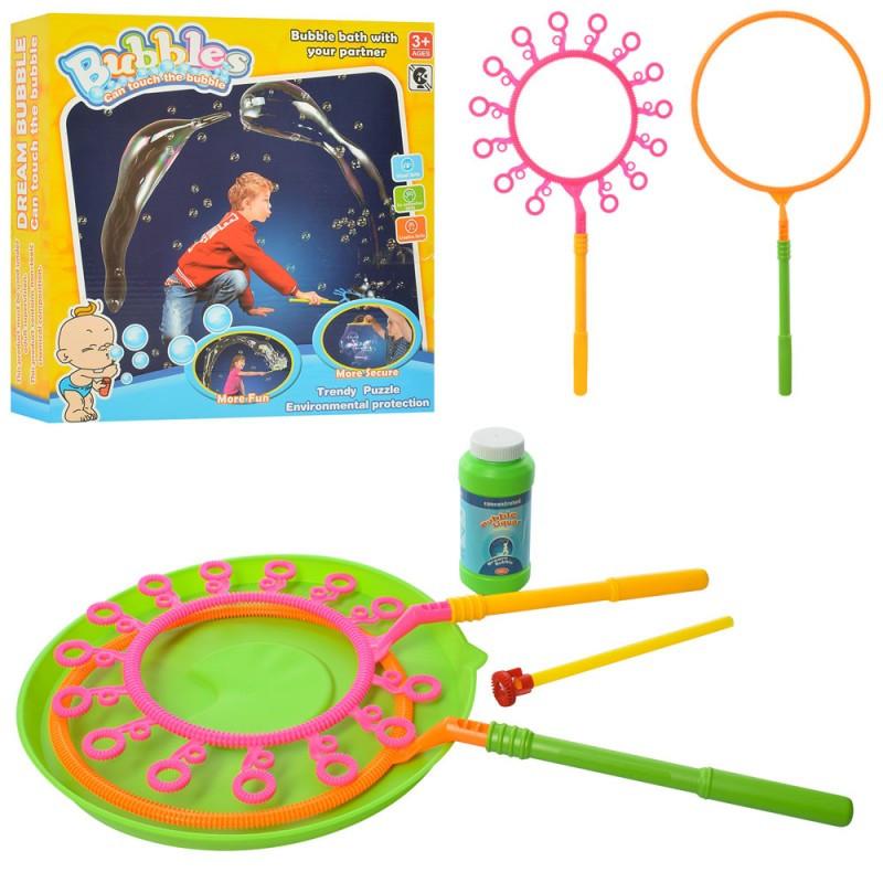 Набор детских мыльных пузырей для шоу фокусов, 6688-4