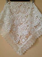 Венчальный платок бежевый