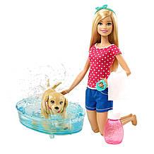 Барби Веселое купание щенка Barbie Splish Splash Pup Playset