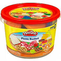 Плей-Дох Ведерко Play-Doh Picnic Bucket Playset