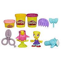 Плей-Дох набор пластилина Город парикмахер и птичка Play-Doh Town Hairdresser and Bird
