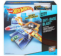 Трек Воздушная база Hot Wheels Sky-Base Blast Track Set