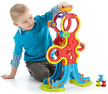 Fisher Price Spinnyos Racin Chasin Super Slide