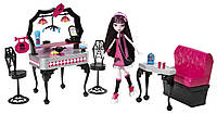Monster High Закусочная Дракулауры Die-Ner & Draculaura Playset and Doll