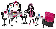 Monster High Закусочная Дракулауры Die-Ner & Draculaura Playset and Doll