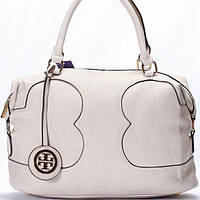 Женская сумка Tory Burch  светло бежевая
