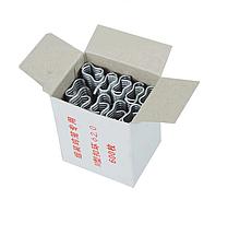 Скобы (600 шт)  для клипсатора. Для скобообжимного инструмента. Скобы для сеток.