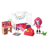 My Little Pony Equestria Girls Minis Pinkie Pie Slumber Party Bedroom Set Пинки Пижамная вечеринка