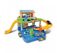 Игровой набор - ГАРАЖ 2 уровня, 1 машинка 1:43