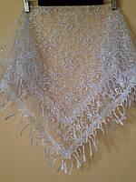 Венчальный платок белый