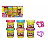 Play Doh Набор пластилина Блестящая коллекция 6 баночек A5417 Hasbro