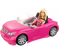Barbie Glam Convertible Барби Кукла и ее гламурный кабриолет