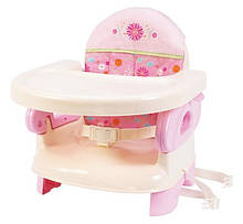 Summer Infant Стульчик-бустер Deluxe Folding Booster Seat, Розовый