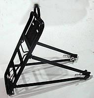 Вело багажник алюминиевый универсальный 26-28