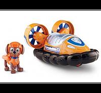 Nickelodeon Paw Patrol Hovercraft  Щенячий патруль спасательный автомобиль с фигуркой Zuma Зума Paw Patrol