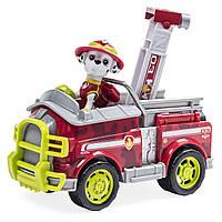 Nickelodeon Paw Patrol Щенячий патруль Маршал на спасательной машине в Джунглях Jungle Rescue Marshall s Jungle Truck