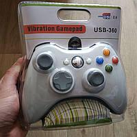 Джойстик USB 360 Vibration Gamepad проводной для ПК, Androide, Windows