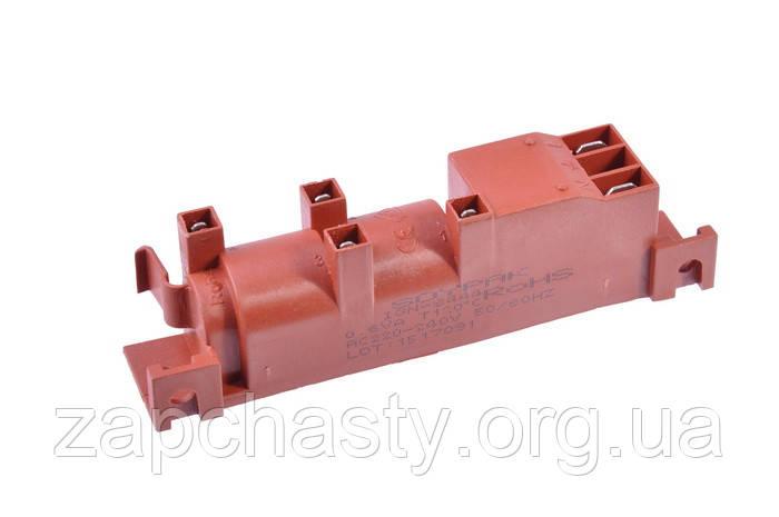 Катушка розжига для духовок и газовых плит, 2 входа / 4 свечи, Cast Futura GDR24400, Ardo 581004100