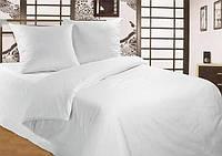 Ткань для пошива постельного белья бязь Голд сублимация Белый