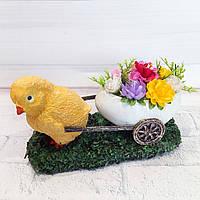 Украшения на пасху Пасхальный фигурка в виде цыпленка Пасхальный декор и подарок