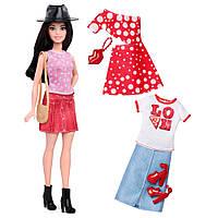 Набор Барби Barbie Fashionistas Fashions Pizza Pizzazz Petite Dark Haired